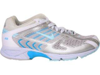 Tênis Feminino Nike 314754 Branco/turquesa - Tamanho Médio
