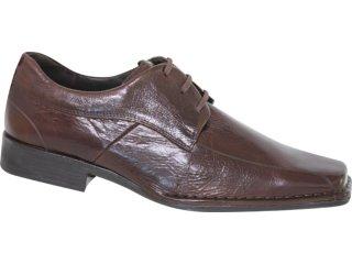 Sapato Masculino Ferracini 4272 Café - Tamanho Médio