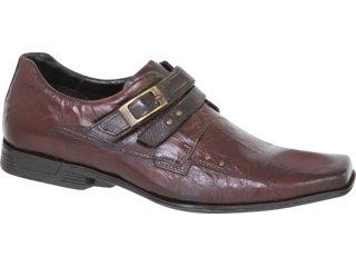 Sapato Masculino Ferracini 4453 Conhaque - Tamanho Médio