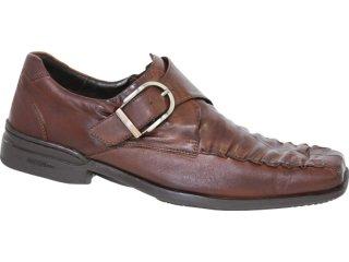 Sapato Masculino Ferracini 3953 Tabaco - Tamanho Médio