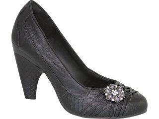 Sapato Feminino Tanara 0852 Preto - Tamanho Médio