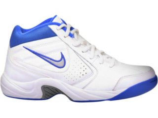 Tennis Bota Masculina Nike 315884 Branco/azul - Tamanho Médio