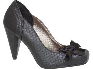 Sapato Feminino Tanara 0981 Preto - Tamanho Médio