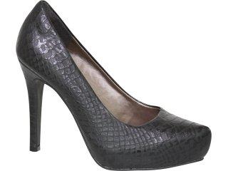 Sapato Feminino Tanara 0731 Preto - Tamanho Médio