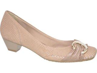 Sapato Feminino Ramarim 105107 Natural - Tamanho Médio