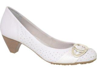 Sapato Feminino Ramarim 106104 Gelo - Tamanho Médio