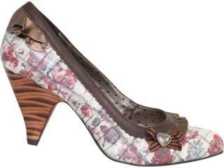 Sapato Feminino Tanara 1042 Florido - Tamanho Médio
