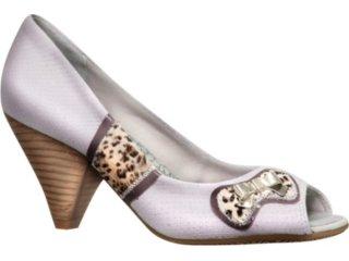Sapato Feminino Ramarim 1016105 Gelo - Tamanho Médio