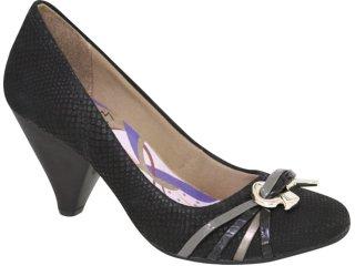 Sapato Feminino Ramarim 1046108 Preto - Tamanho Médio