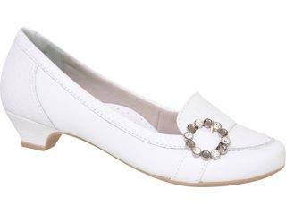 Sapato Feminino Campesi 1373 Branco - Tamanho Médio