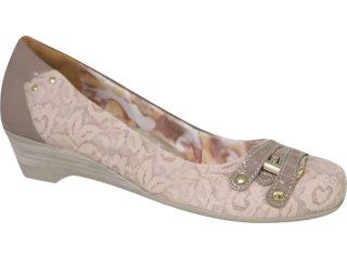 Sapato Feminino Campesi 1323 Avelã - Tamanho Médio