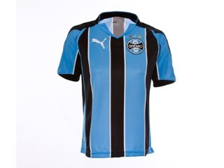 T-shirt Feminino Grêmio C5000f Tricolor - Tamanho Médio