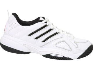 Tênis Masculino Adidas Court Ace G18416 Branco/preto - Tamanho Médio