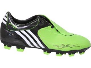 Chuteira Masculina Adidas F10 G15449 Verde - Tamanho Médio