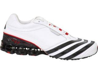 Tênis Masculino Adidas Modulate G09428 Branco/pt/vermelho - Tamanho Médio
