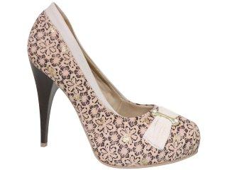 Sapato Feminino Dakota 1801 Avelã - Tamanho Médio