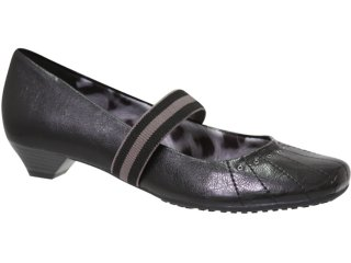 Sapato Feminino Via Marte 10-6510 Preto - Tamanho Médio