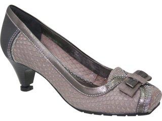 Sapato Feminino Dakota 2123 Cinza - Tamanho Médio