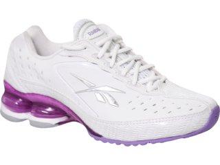 Tênis Feminino Reebok Dual Heel Branco/lilas - Tamanho Médio