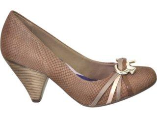 Sapato Feminino Ramarim 1046108 Amendoa - Tamanho Médio