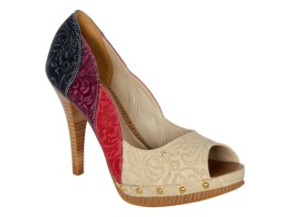 Sapato Feminino Tanara 0932 Florido - Tamanho Médio