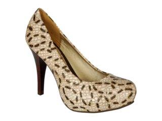 Sapato Feminino Tanara 0611 Fibra - Tamanho Médio