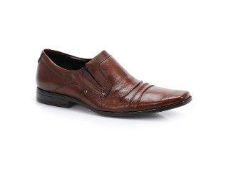 Sapato Masculino Ferracini 4862 Conhaque - Tamanho Médio