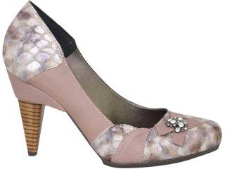 Sapato Feminino Tanara 1233 Fibra - Tamanho Médio