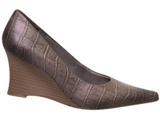 Sapato Feminino Via Marte 10-4708 Taupe - Tamanho Médio