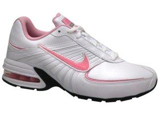 Tênis Feminino Nike Max Torch 395783-100 Branco/rosa - Tamanho Médio