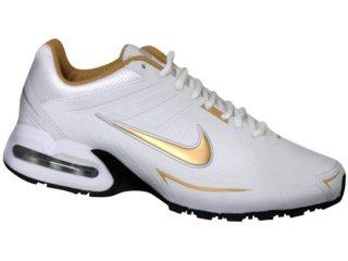 Tênis Feminino Nike Air Spear 390700-100 Branco/ouro - Tamanho Médio