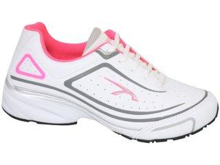 Tênis Feminino Kolosh 9561 Branco/pink - Tamanho Médio