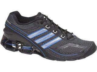 Tênis Masculino Adidas Devotion G12218 Preto/azul - Tamanho Médio