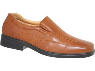 Sapato Masculino Fushida 681 Marrom - Tamanho Médio