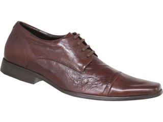 Sapato Masculino Ferracini 4863 Conhaque - Tamanho Médio