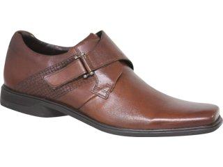 Sapato Masculino Ferracini 3263 Tabaco - Tamanho Médio