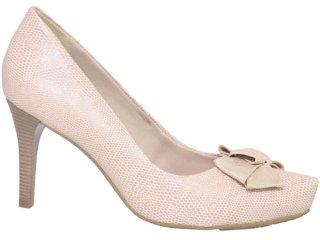 Sapato Feminino Ramarim 1021202 Nude - Tamanho Médio