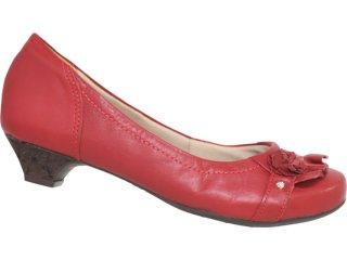 Sapato Feminino Campesi 1452 Vermelho - Tamanho Médio