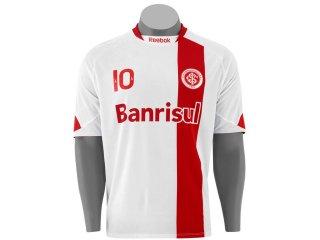 Camisa Masculina Inter 6050v Branco/vermelho - Tamanho Médio