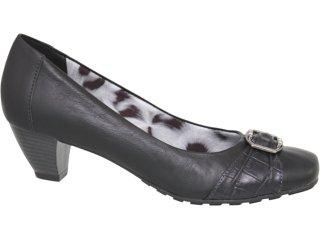 Sapato Feminino Via Marte 10-6203 Preto - Tamanho Médio