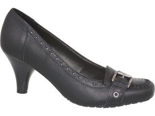 Sapato Feminino Via Marte 10-9708 Preto - Tamanho Médio