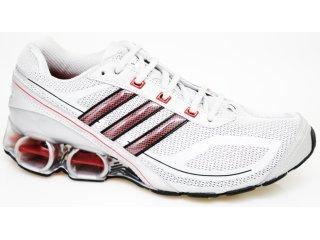 Tênis Masculino Adidas Devotion G17035 Cinza/vermelho - Tamanho Médio