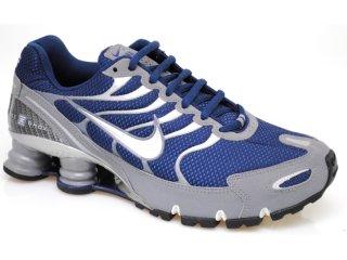 Tênis Masculino Nike 318161-401 Turbo + v1 Marinho - Tamanho Médio
