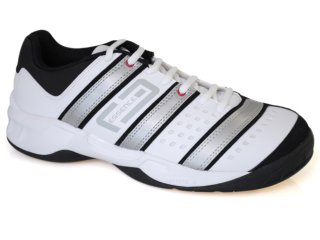 Tênis Masculino Adidas Stabil G12711 Bco/cinza/preto - Tamanho Médio