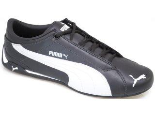 Tênis Masculino Puma 468072 Preto/branco - Tamanho Médio