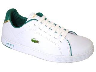 c008e7a58a0 ... tenis lacoste branco e verde ...