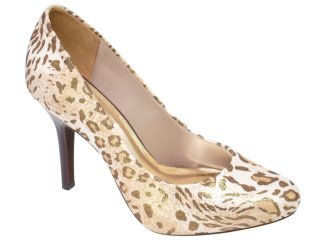 Sapato Feminino Vizzano 1045100 Natural - Tamanho Médio