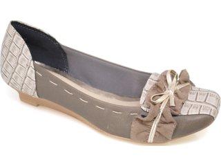 Sapato Feminino Dakota 1963 Fibra Musgo - Tamanho Médio