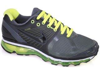 Tênis Masculino Nike Air Max 386368-004 Grafite/verde - Tamanho Médio