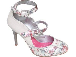 Sapato Feminino Tanara 1022 Fibra - Tamanho Médio